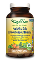 MegaFood Men's One Daily 72 tablets