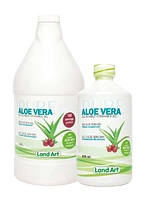 Land Art Aloe Vera Drinkable Gel Cranberry Flavour 500 ml
