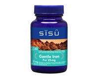 Sisu Gentle Iron 25 mg 60 Vcaps
