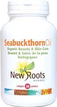 New Roots Sea Buckthorn Oil 30 Softgels