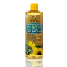 Green Beaver Sunflower Castile Soap Liquid Frosty Mint 495 ml