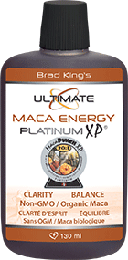 Brad King's Maca Energy Platinum XP 130 ml