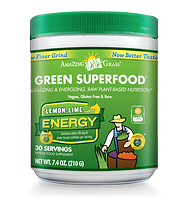 Amazing Grass Green Superfood Lemon-Lime Energy 210g / 30 servings