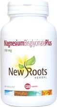New Roots Magnesium Bisglycinate Plus 150 mg 120 caps