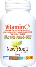 New Roots Vitamin C 250 g 1165 g per portion powder