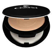 Gabriel Dual Powder Foundation Medium Beige
