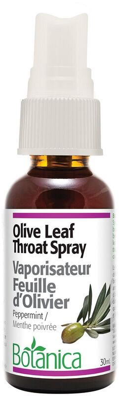 Botanica Olive Leaf Throat Spray 30 ml