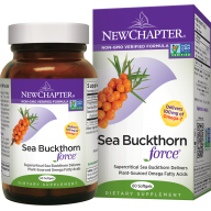 New Chapter Sea Buckthorn Force 30 caps