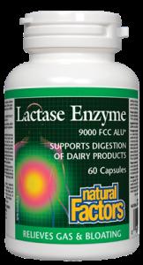 Natural Factors Lactase Enzyme 60 caps