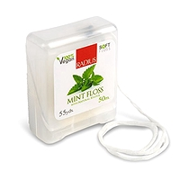 Radius Vegan Xylitol Dental Floss Mint 55 yd / 50 m