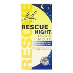 Bach Rescue Night Liquid Melts 28 capsules