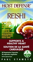 Host Defense Mushrooms Reishi 30 Vegetarian Capsules