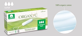 Organyc Tampons Super 16-count