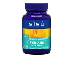 Sisu Folic Acid 1 mg 90 caps