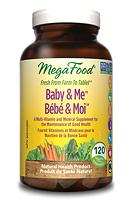 MegaFood Baby & Me Prenatal 120 tablets