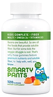 SmartyPants Kids Complete + Fiber Multivitamin 120 Gummies