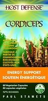 Host Defense Mushrooms Cordyceps 60 Vegetarian Capsules