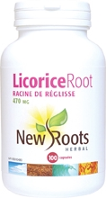 New Roots Licorice Root 470 mg 100 caps
