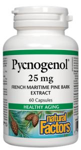 Natural Factors Pycnogenol 25 mg 60 caps