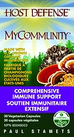 Host Defense Mushrooms MyCommunity 30 Vegetarian Capsules