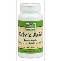 NOW Citric Acid 113 g / 4 oz