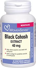 WomenSense Black Cohosh 40 mg 90 Vcaps