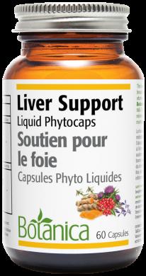 Botanica Liver Support 60 liquid phytocaps