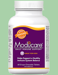 Moducare 60 chewable tablets ideal for kids