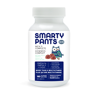 SmartyPants Men's Complete Multivitamin 180 Gummies