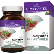 New Chapter 40+ Every Man's One Daily Multivitamin 48 tablets