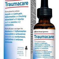 Traumacare Homeopathic Formula for Pain Relief Drops 30 ml