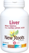 New Roots Liver (Milk Thistle) 90 caps
