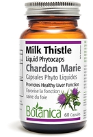 Botanica Milk Thistle 60 liquid phytocaps