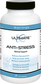 Brad King's Ultimate Anti-Stress 120 caps