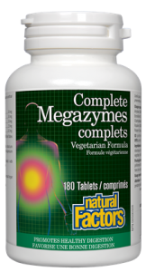 Natural Factors Megazymes 90 tablets
