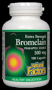 Natural Factors Bromelain 500 mg 90 caps