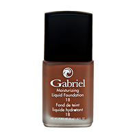 Gabriel Moisturizing Liquid Foundation Walnut 30 ml