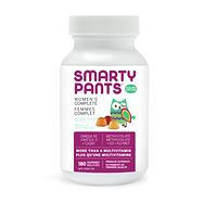 SmartyPants Women's Complete Multivitamin 180 Gummies