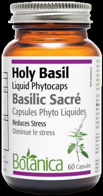Botanica Holy Basil 60 liquid phytocaps