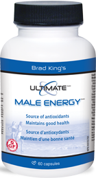 Brad King's Ultimate Male Energy 120 caps