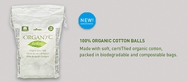 Organyc Beauty Organic Cotton Balls 100-count