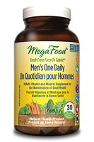 MegaFood Men's One Daily 30 tablets