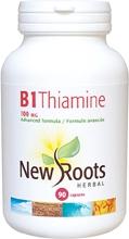 New Roots B1 Thiamine 100 mg 90 caps