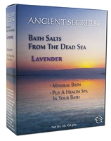 Ancient Secrets Dead Sea Bath Salts 454g / 1 lb - Choice of Scent