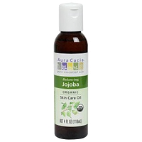 Aura Cacia Jojoba Organic Skin Care Oil 118ml