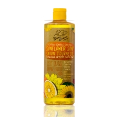 Green Beaver Sunflower Castile Soap Liquid Zesty Orange 495 ml