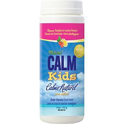 Natural Calm for Kids Raspberry-Lemon Flavour organic 113 g