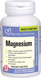 Preferred Nutrition Magnesium 120 Vcaps