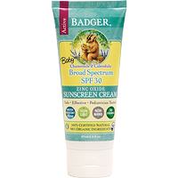 Badger Baby Sunscreen Cream SPF 30 Chamomile  87 ml