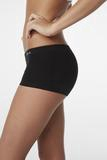 Boody Organic Bamboo Eco Wear Women's Underwear Boyleg Brief Black